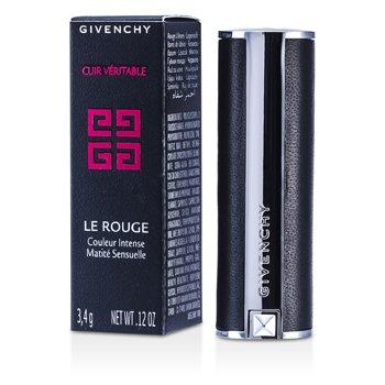Givenchy Matowa pomadka do ust Matowa pomadka do ust Le Rouge Intense Color Sensuously Mat Lipstick - # 108 Beige Deshabille (sk�rzana oprawa)  3.4g/0.12oz
