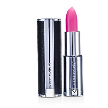Givenchy Le Rouge Intense Color Sensuously Mat Lipstick – # 210 Rose Dahlia (Genuine Leather Case) 3.4g/0.12oz