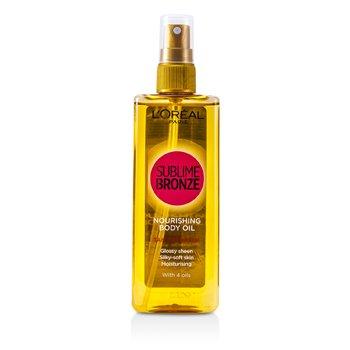 L'OrealSublime Bronze Nourishing Body Oil (Tan Optimiser) 150ml/5oz
