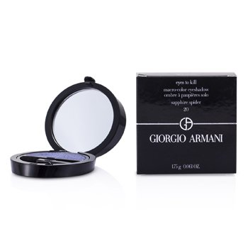 Giorgio Armani Eyes to Kill Solo Eyeshadow - # 20 Sapphire Spider 1.75g/0.061oz make up