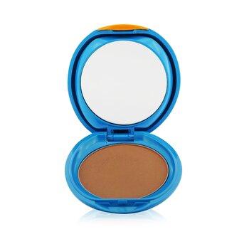Купить УФ Защитная Компактная Основа SPF 30 (Футляр+Запасной Блок) - # SP60 Medium Beige 12g/0.42oz, Shiseido