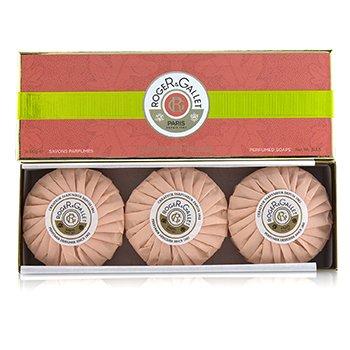 Roge & GalletFleur De Figuier Coffret de Jab�n Perfumado 3x100g/3.5oz