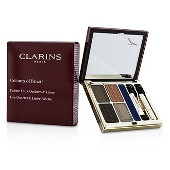 ClarinsColours of Brazil Eye Quartet & Liner Palette 4.9g/0.1oz