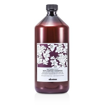 DavinesNatural Tech Replumping Shampoo (For All Hair Types) 1000ml/33.8oz