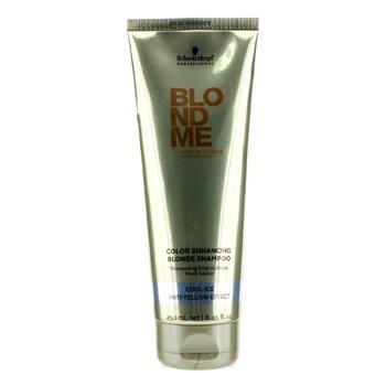 SchwarzkopfBlondme Color Enhancing Blonde Shampoo - Cool Ice (Anti-Yellow Effect) 250ml/8.45oz