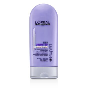 L'OrealProfessionnel Expert Serie - Liss Unlimited Smoothing Conditioner - Rinse Out (For Rebellious Hair) 150ml/5oz