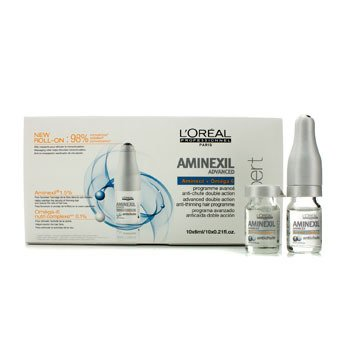 L'OrealProfessionnel Expert Serie - Aminexil Advanced Anti-Thinning Hair Programme 10x6ml/0.21oz