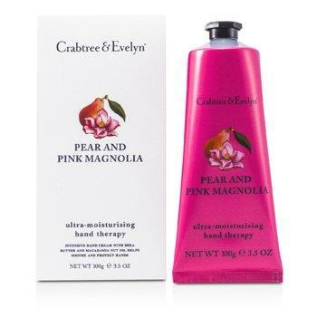 Crabtree & Evelyn Pear & Pink Magnolia Terapia de Manos Ultra Hidratante  100g/3.5oz