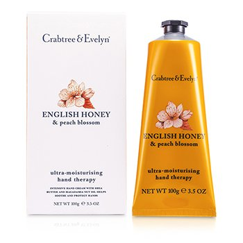Crabtree & EvelynEnglish Honey & Peach Blossom Ultra-Moisturising Hand Therapy 100g/3.5oz