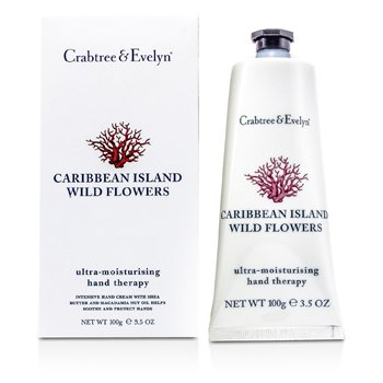 Crabtree & EvelynCaribbean Island Wild Flowers Ultra-Moisturising Hand Therapy 100g/3.5oz