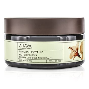 Ahava Mineral Botanic Velvet Manteca Corporal - Hibiscus & Fig  235g/8oz