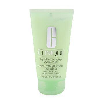 CliniqueJab�n Facial L�quido Extra Suave en Tubo (Piel Muy Seca a Seca) 150ml/5oz
