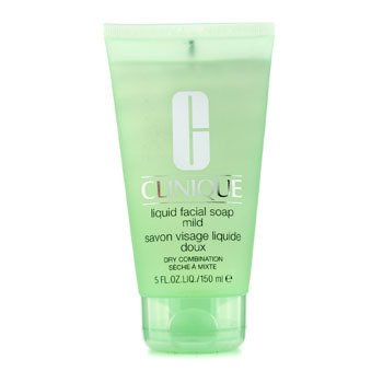 CliniqueJab�n Facial L�quido Suave en Tubo (Piel Seca Mixta) 150ml/5oz