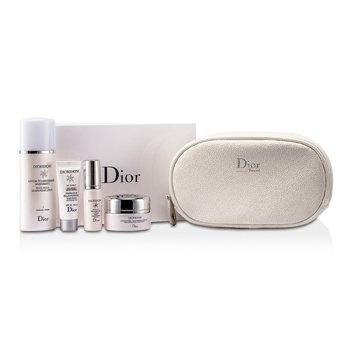 Christian DiorDiorSnow Set: Moisturizing Lotion 50ml + Fresh Creme 15ml + BB Creme 10ml + Essence 7ml + Bag 4pcs+1bag