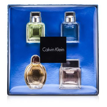Calvin Klein Miniature Coffret: Eternity Men, Eternity Aqua Men, Obsession Men, Euphoria Men  4x15ml/0.5oz