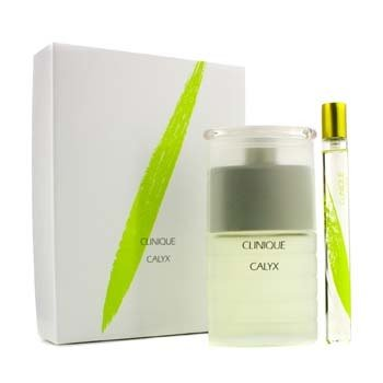 CliniqueCalyx Coffret: Exhilarating Fragrance Spray 50ml/1.7oz + Vial Purse Spray 10ml/0.3oz 2pcs