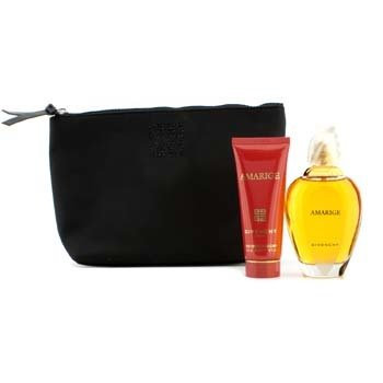 GivenchyAmarige Coffret: Eau De Toilette Spray 100ml/3.3oz + Silk Body Veil 75ml/2.5oz + Pouch 2pcs+1pouch