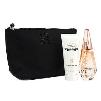 GivenchyAnge Ou Demon Le Secret Coffret: Eau De Parfum Spray 50ml/1.7oz + Body Veil 100ml/3.3oz + Pouch 2pcs+1pouch