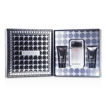 Givenchy Play Coffret: Eau De Toilette Spray 100ml/3.3oz + Shower Gel 50ml/1.7oz + After Shave Gel 50ml/1.7oz 3pcs