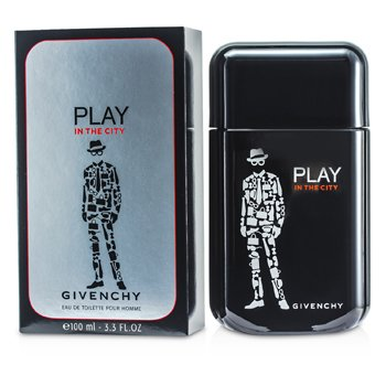 GivenchyPlay In The City For Him Eau De Toilette Spray 100ml/3.3oz