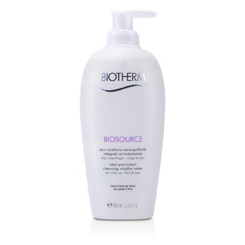 Biotherm Biosource Total And Instant Cleansing Micellar Water  400ml/13.52oz