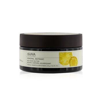 Ahava Mineral Botanic Velvet Body Butter - Tropical Pineapple & White Peach 235g/8oz