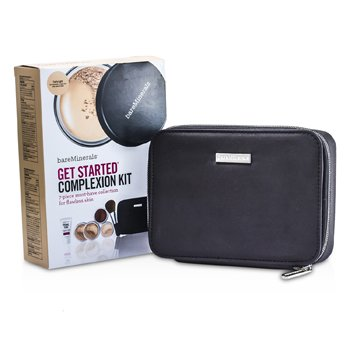 MakeUp SetBareMinerals Get Started Complexion Kit For Flawless Skin6pcs+1Clutch