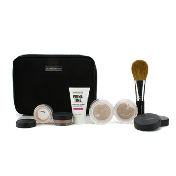 Bare EscentualsBareMinerals Get Started Complexion Kit For Flawless Skin - # Light 6pcs+1clutch