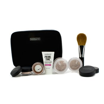 BareMinerals BareMinerals Get Started Complexion Kit For Flawless Skin - # Medium 6pcs+1clutch