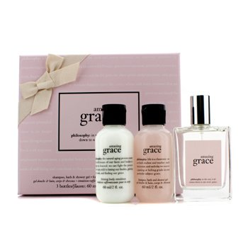 Amazing GraceAmazing Grace Coffret: Fragrance Spray 60ml/2oz + Firming Body Emulsion 60ml/2oz + Bath & Shower Gel 60ml/2oz 3pcs