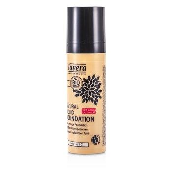 Lavera Natural Liquid Foundation (10H Long Lasting) - # 01 Ivory Light 30ml/1oz