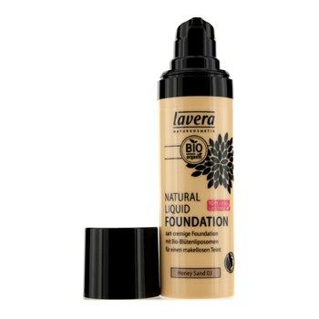 Lavera Natural Liquid Foundation (10H Long Lasting) – # 03 Honey Sand 30ml/1oz