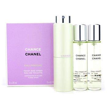 ChanelChance Eau Fraiche Twist & Spray Eau De Toilette 3x20ml/0.7oz