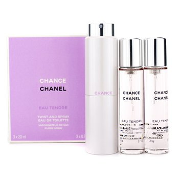 ChanelChance Eau Tendre Twist & Spray Eau De Toilette 3x20ml/0.7oz
