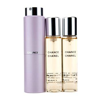 ChanelChance Twist & Semprot Eau De Toilette 3x20ml/0.7oz