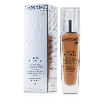 Lancome Teint Miracle Bare Skin Foundation Natural Light Creator SPF 15 - # 06 Cannelle  30ml/1oz