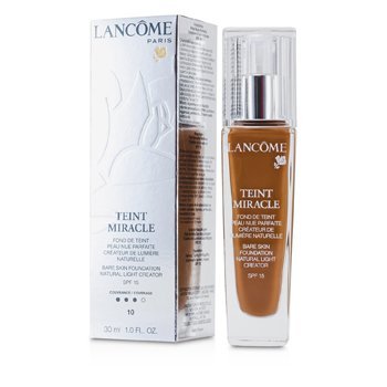 LancomeMake-up pro efekt nah� pleti Teint Miracle Bare Skin Foundation Natural Light Creator SPF 15 - # 10 Praline 30ml/1oz