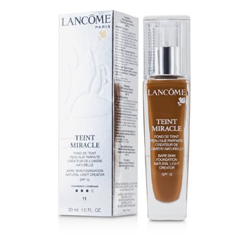 LancomeTeint Miracle Bare Skin Foundation Natural Light Creator SPF 15 - # 11 Muscade 30ml/1oz