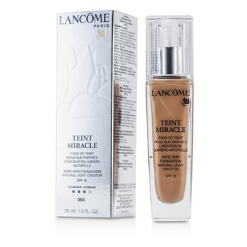 LancomeTeint Miracle Bare Skin Foundation Natural Light Creator SPF 15 - # 55 Beige Ideal 30ml/1oz