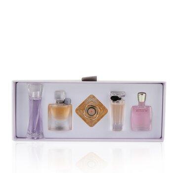 LancomeLa Collection De Parfums: Hypnose, Hypnose Senses, Miracle, Tresor, Tresor In Love 5pcs