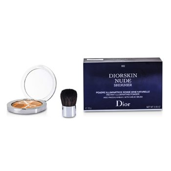 Christian DiorDiorskin Nude Shimmer Powder - # 002 Ambre 10g/0.35oz