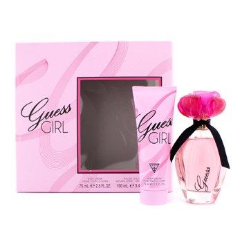 GuessGuess Girl Coffret: Eau De Toilette Spray 100ml/3.4oz + Crema Corporal 75ml/2.5oz 2pcs