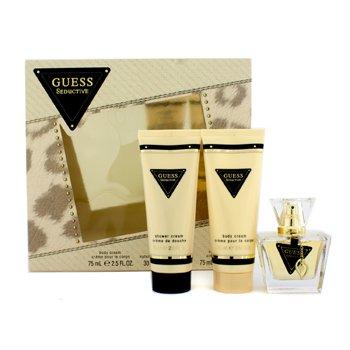 GuessGuess Seductive Coffret: toaletna voda u spreju30ml/1oz + krema za tijelo 75ml/2.5oz + Shower Cream 75ml/2.5oz 3pcs
