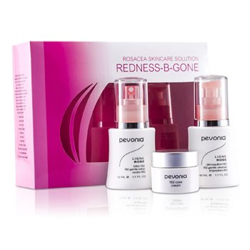 Night CareRosacea Skincare Solution Redness-B-Gone: RS2 Cleanser 50ml/1.7oz + RS2 Lotion 50ml/1.7oz + RS2 Cream 20ml/0.7oz 3pcs