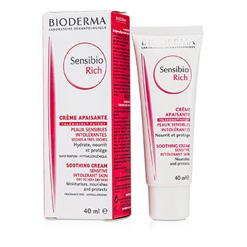 BiodermaSensibio Rich Cream (For Sensitive Skin) 40ml/1.3oz