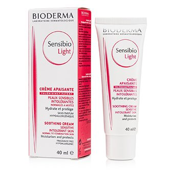 BiodermaSensibio Light Cream (For Sensitive Skin) 40ml/1.3oz