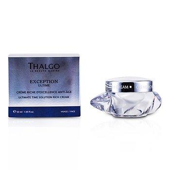 Thalgo Exception Ultime Ultimate Time Solution Насыщенный Крем 50ml/1.69oz