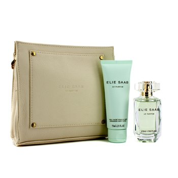 Elie SaabLe Parfum L'Eau Couture Coffret: Eau De Toilette 50ml/1.6oz + Loci�n Corporal 75ml/2.5oz + Bolso 2pcs+1pouch