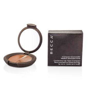 Becca Compact Concealer Medium & Extra Cover - # Molasses (Box Slightly Damaged) 3g/0.07oz