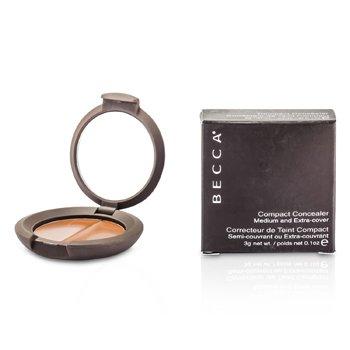 Becca Compact Concealer Medium & Extra Cover - # Chocolate (Box Slightly Damaged) 3g/0.07oz